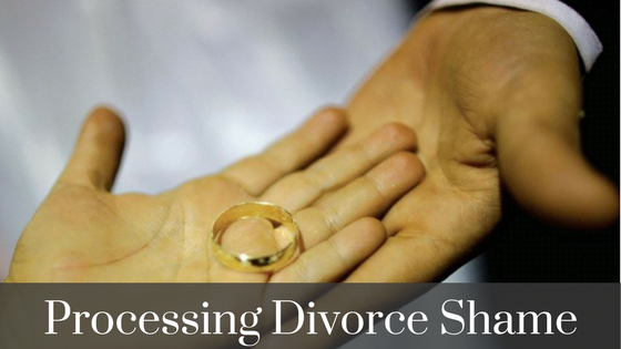how to process divorce shame