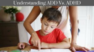 add vs. adhd