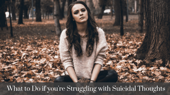 how to handle suicidal thoughts